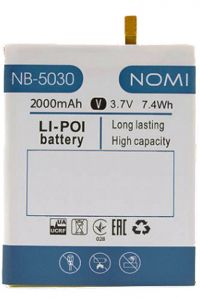 Аккумулятор Nomi NB-5030 i5030 Evo X [Original]