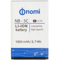 Аккумулятор Nomi NB-5C/NB-177 (i177) 1000mAh Внимание: сверяйте и модель телефона и маркировку и емкость батареи [Original]