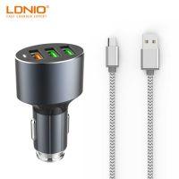 АЗУ блок Ldnio DL-C12 1 USB 5V 2.1A + кабель iPhone 5