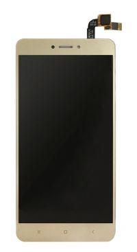 Дисплей (LCD) Xiaomi Redmi Note 4X с сенсором золотой