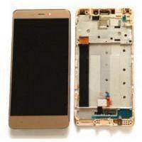 Дисплей (LCD) Xiaomi Redmi Note 4X с сенсором золотой + рамка