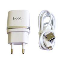 СЗУ 1USB Hoco C11 White (1A)