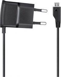 СЗУ (Сетевое зарядное устройство) несъемный MicroUSB-кабель 0,7-1A